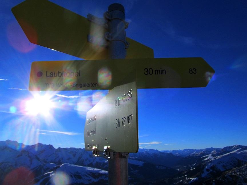 Foto: Andreas Koller / Wandertour / Aussichtsgipfel Gernkogel (2267m) / Abstieg vom Gernkogel / 21.01.2018 23:30:36
