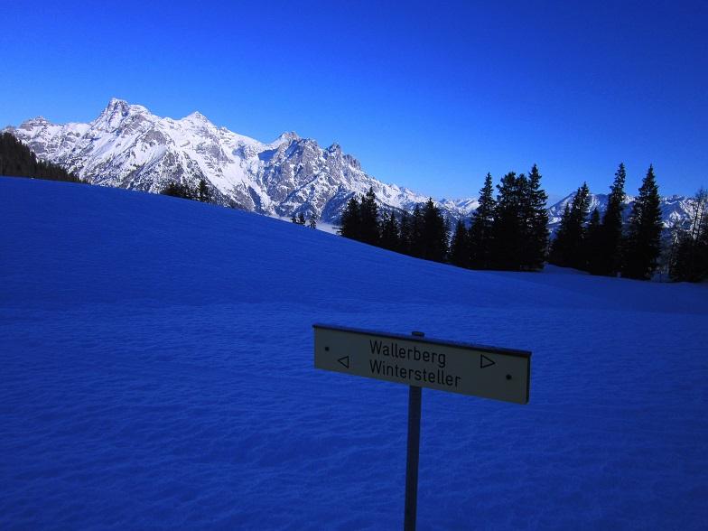 Foto: Andreas Koller / Schneeschuhtour / Wallerberg mit Schneeschuhen (1682m) / Orientierung leicht gemacht / 05.03.2018 23:09:39