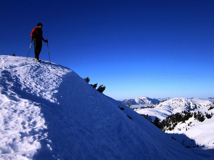 Foto: Andreas Koller / Schneeschuhtour / Wallerberg mit Schneeschuhen (1682m) / Abstieg vom Wallerberg / 05.03.2018 23:04:52