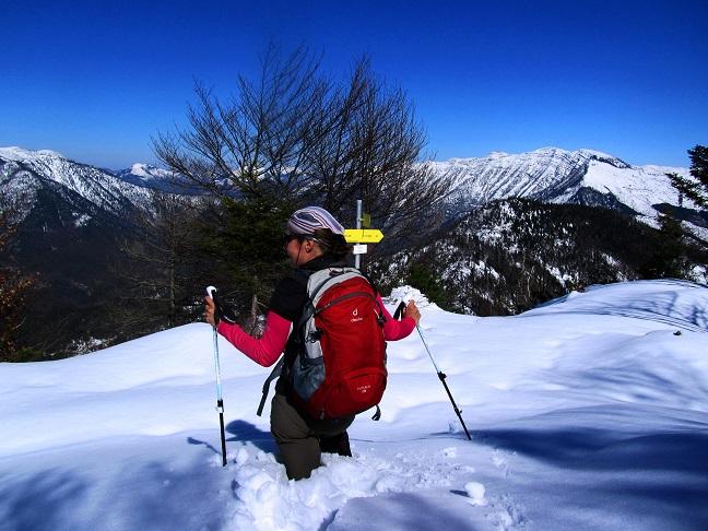 Foto: Andreas Koller / Wander Tour / Option Gspranggupf (1368m) / Bei viel Schnee am Gspranggupf (1.Mai 2017!) / 15.04.2018 15:01:44