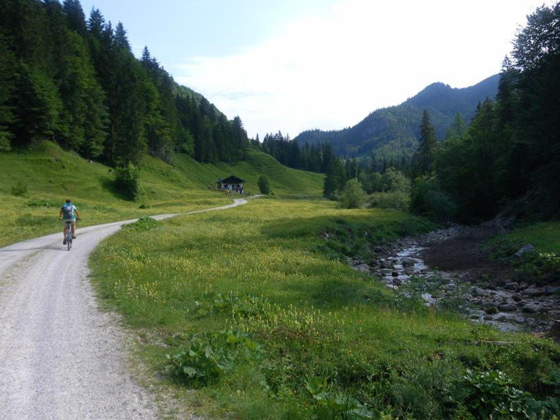 Foto: Wolfgang Lauschensky / Wandertour / Spitzstein Überschreitung via Nordwandsteig von Erl - Bike&Hike / Trockenbachtal / 13.06.2018 14:11:11