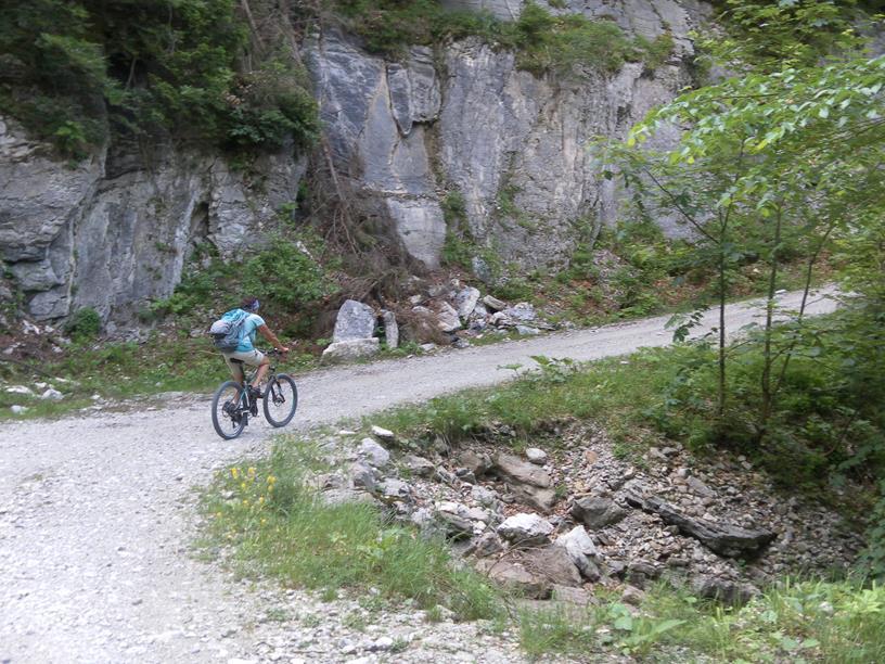 Foto: Wolfgang Lauschensky / Wandertour / Spitzstein Überschreitung via Nordwandsteig von Erl - Bike&Hike / Klausenstraße / 13.06.2018 14:11:07