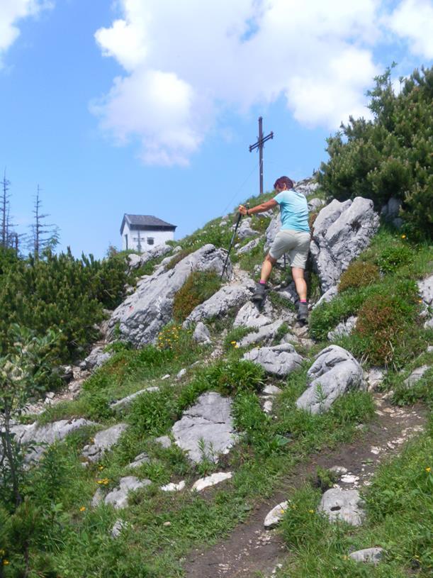 Foto: Wolfgang Lauschensky / Wandertour / Spitzstein Überschreitung via Nordwandsteig von Erl - Bike&Hike / Gipfelsteig / 13.06.2018 14:10:08