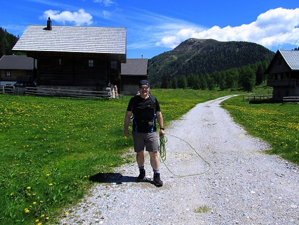 Foto: Andreas Koller / Wander Tour / Poludnig - kurz oder lang? (1999m) / 12.07.2018 01:14:30