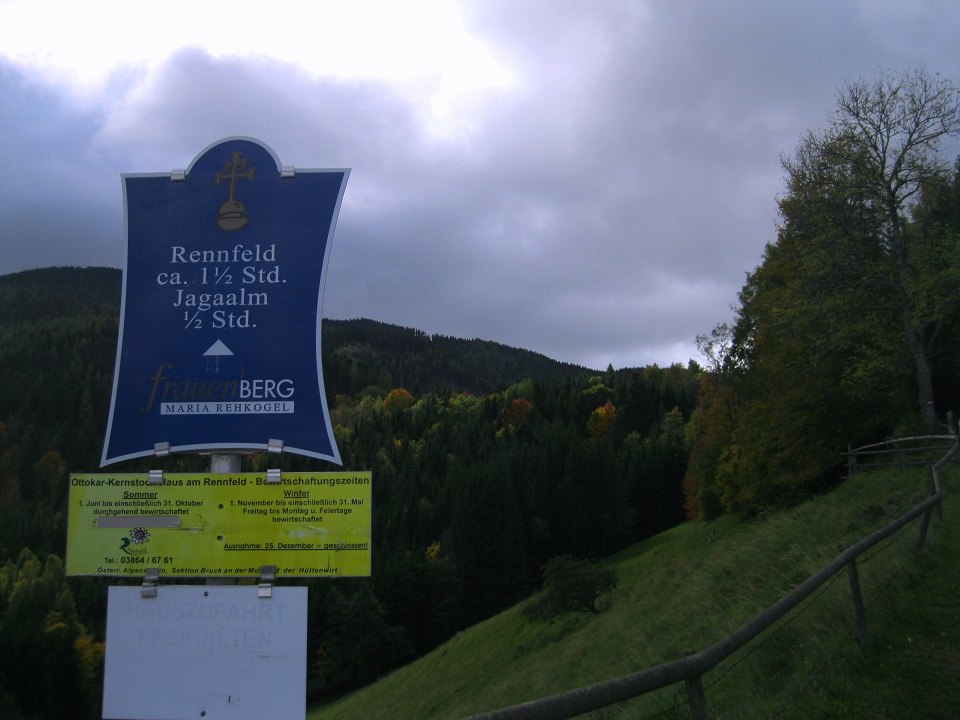 ALPINTOUREN COM - Wander Tour - Panoramaberg Rennfeld (1629m