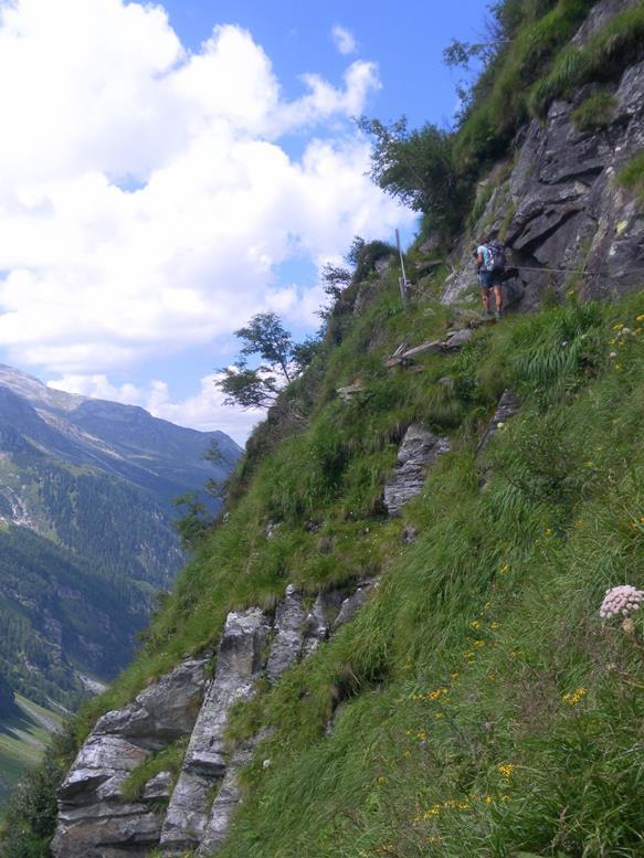 Foto: Wolfgang Lauschensky / Wander Tour / Roßlahnerkopf 2861m von der Thyringer Hütte / steiler Noitroisteig / 04.08.2018 13:55:47