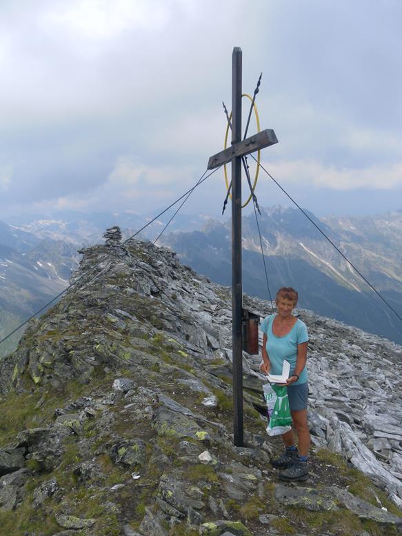 Foto: Wolfgang Lauschensky / Wander Tour / Roßlahnerkopf 2861m von der Thyringer Hütte / Roßlahnerkopf / 04.08.2018 13:55:07