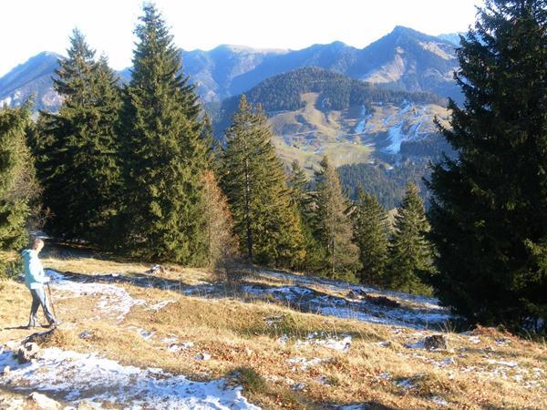 Foto: Wolfgang Lauschensky / Wandertour / Pasterkopf oder Pastaukopf über Kranzhorn / Pastaukopf vor Spitzstein gesehen beim Kranzhornabstieg / 22.11.2018 18:22:55