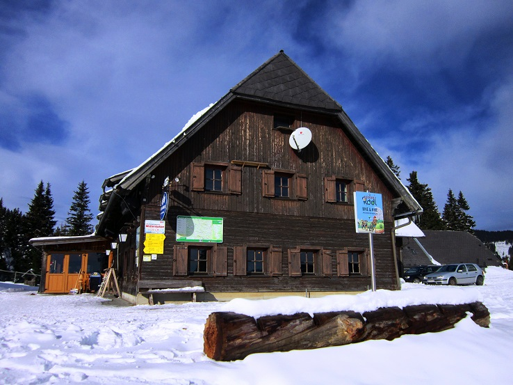 Foto: Andreas Koller / Skitour / Vom Salzstieglhaus auf den Speikkogel (1993m) / Salzstiegelhaus / 10.12.2018 01:51:10