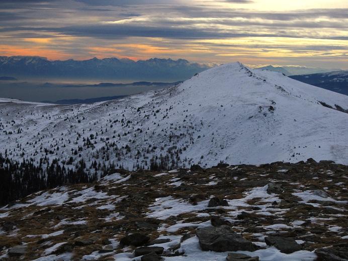 Foto: Andreas Koller / Skitour / Vom Salzstieglhaus auf den Speikkogel (1993m) / Peterer Riegel (1967m) und Karawanken / 10.12.2018 01:46:55