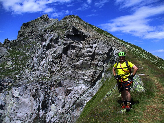 Klettersteig Ifinger : Gipfelbuch verhältnisse großer ifinger grande