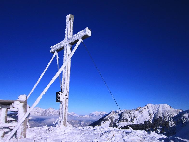 Foto: Andreas Koller / Skitour / Auracher Wildparktour Gaisberg (1798m) / Am Gaisberg / 24.12.2018 15:07:53