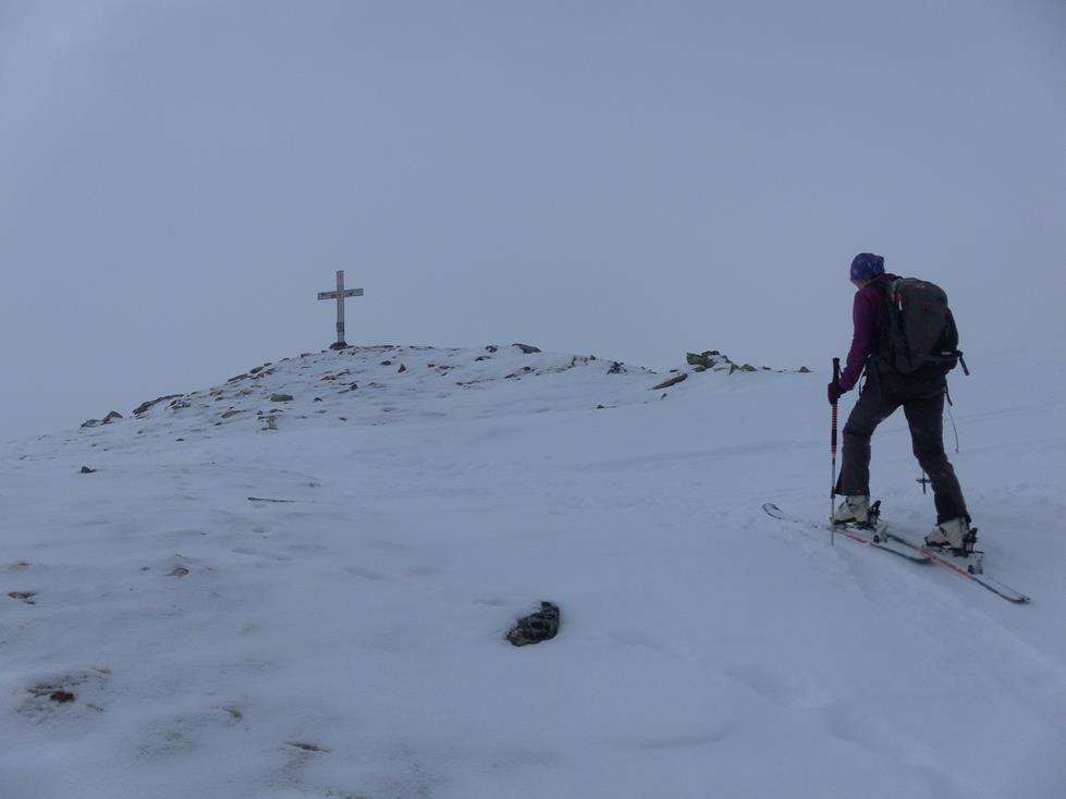 Foto: Wolfgang Lauschensky / Skitour / Angerbergkopf und Schaflegerkogel von der Kemater Alm / Angerbergkopf / 26.01.2019 11:29:22