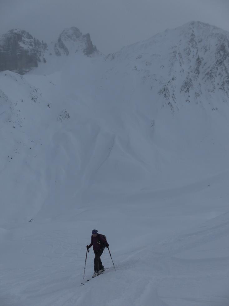 Foto: Wolfgang Lauschensky / Skitour / Angerbergkopf und Schaflegerkogel von der Kemater Alm / Gamskogel rechts des Seejöchls / 26.01.2019 11:29:12