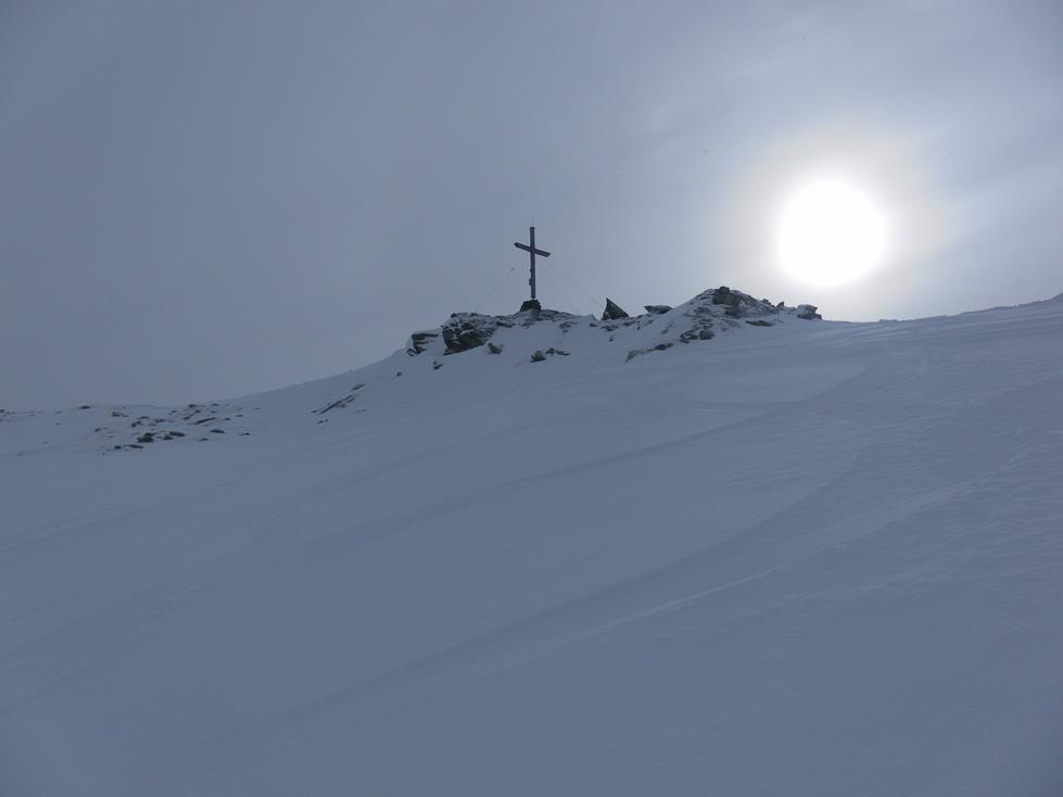 Foto: Wolfgang Lauschensky / Skitour / Angerbergkopf und Schaflegerkogel von der Kemater Alm / Schaflegerkogel / 26.01.2019 11:29:01