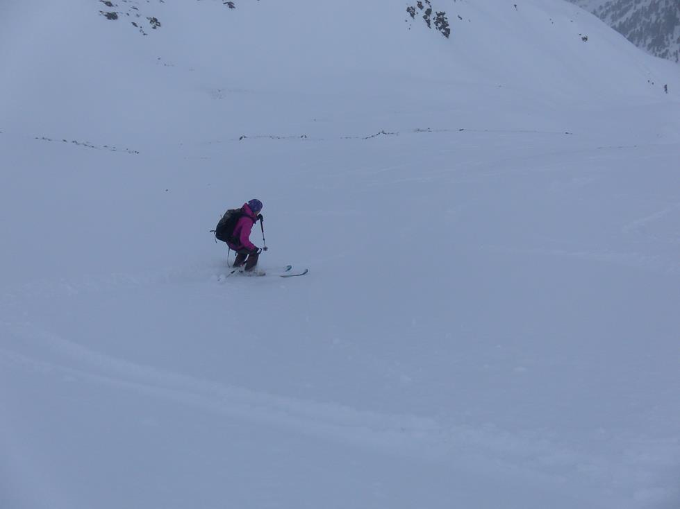 Foto: Wolfgang Lauschensky / Skitour / Angerbergkopf und Schaflegerkogel von der Kemater Alm / Gipfelkar / 26.01.2019 11:28:46