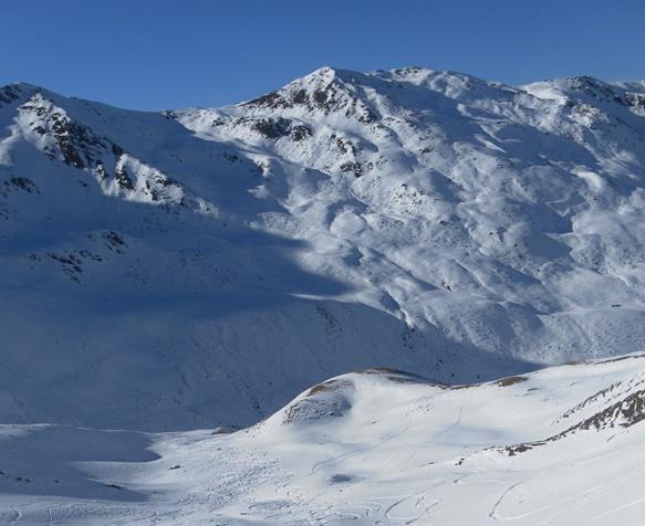 Foto: Wolfgang Lauschensky / Skitour / Angerbergkopf und Schaflegerkogel von der Kemater Alm / Schaflegerkogel und Angerbergkopf Ostflanke / 26.01.2019 11:28:26