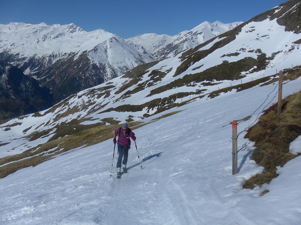 Foto: Wolfgang Lauschensky / Skitour / Roßschartenkopf über Schareck / auf der Schareck Skiroute / 26.04.2019 17:34:03