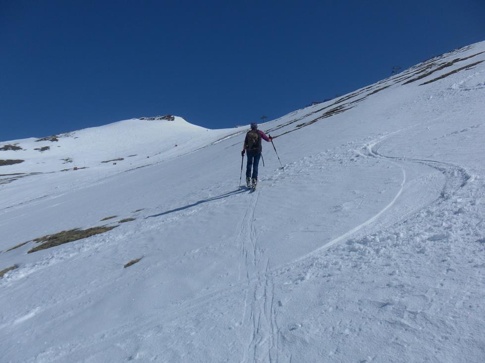 Foto: Wolfgang Lauschensky / Skitour / Roßschartenkopf über Schareck / Gipfelkuppe / 26.04.2019 17:33:47