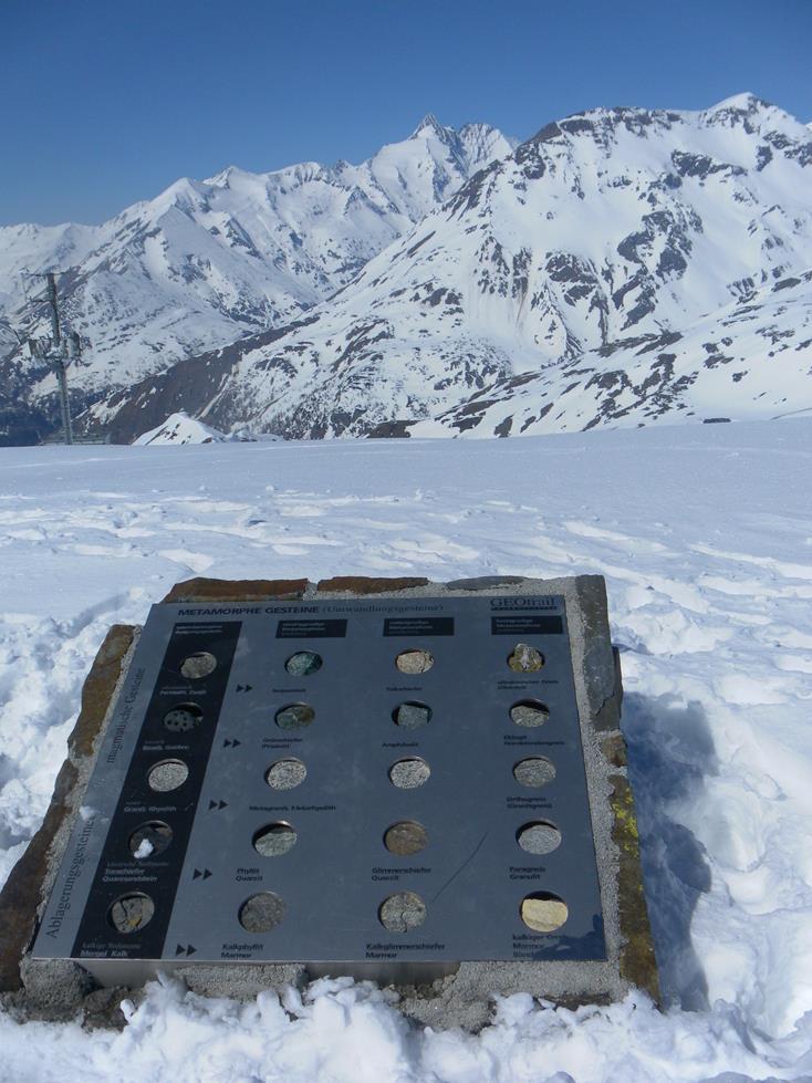 Foto: Wolfgang Lauschensky / Skitour / Roßschartenkopf über Schareck / Großglockner vom höchsten Punkt des Scharecks / 26.04.2019 17:33:23