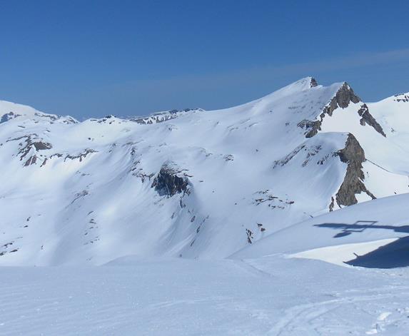 Foto: Wolfgang Lauschensky / Skitour / Roßschartenkopf über Schareck / Roßschartenkopf vom Schareckgipfel / 26.04.2019 17:33:19
