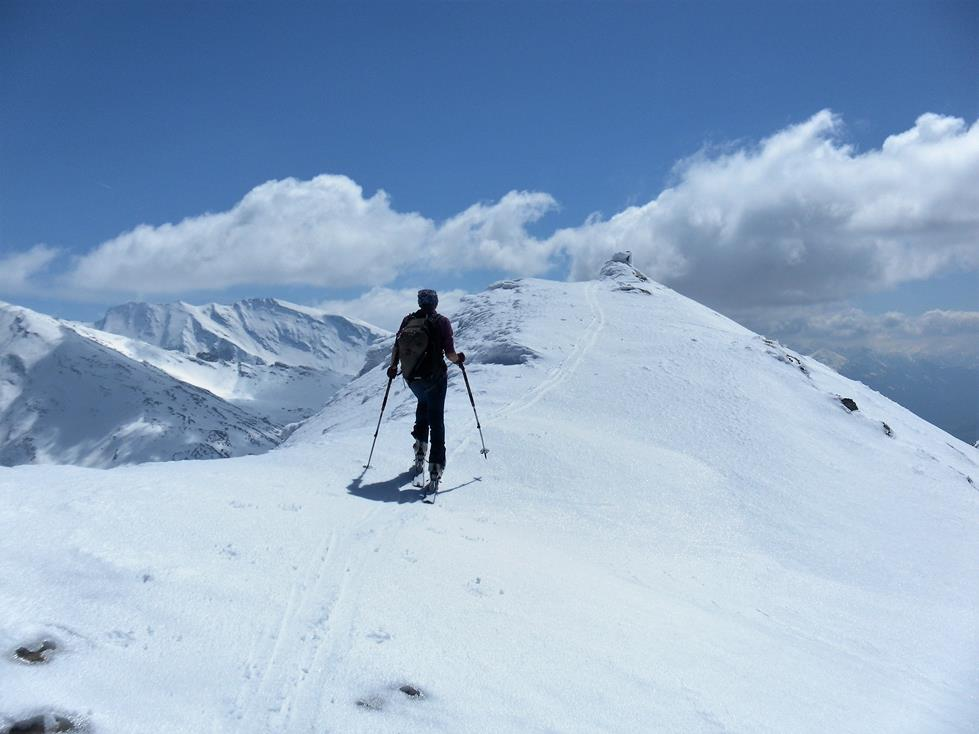 Foto: Wolfgang Lauschensky / Skitour / Roßschartenkopf über Schareck / Gipfelkamm des Roßschartenkopfs / 26.04.2019 17:32:51