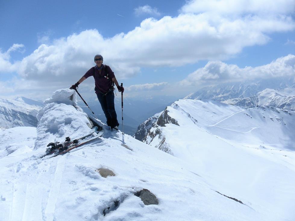 Foto: Wolfgang Lauschensky / Skitour / Roßschartenkopf über Schareck / Schareck vom Roßschartenkopf / 26.04.2019 17:32:47