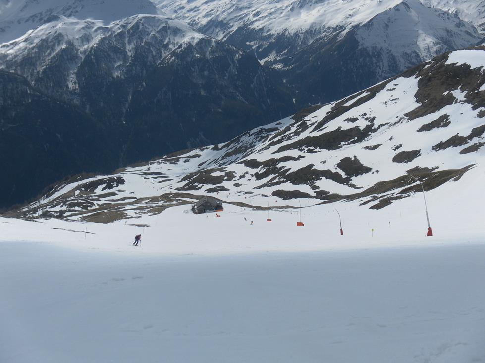 Foto: Wolfgang Lauschensky / Skitour / Roßschartenkopf über Schareck / Piste über der Gruberalm / 26.04.2019 17:32:30