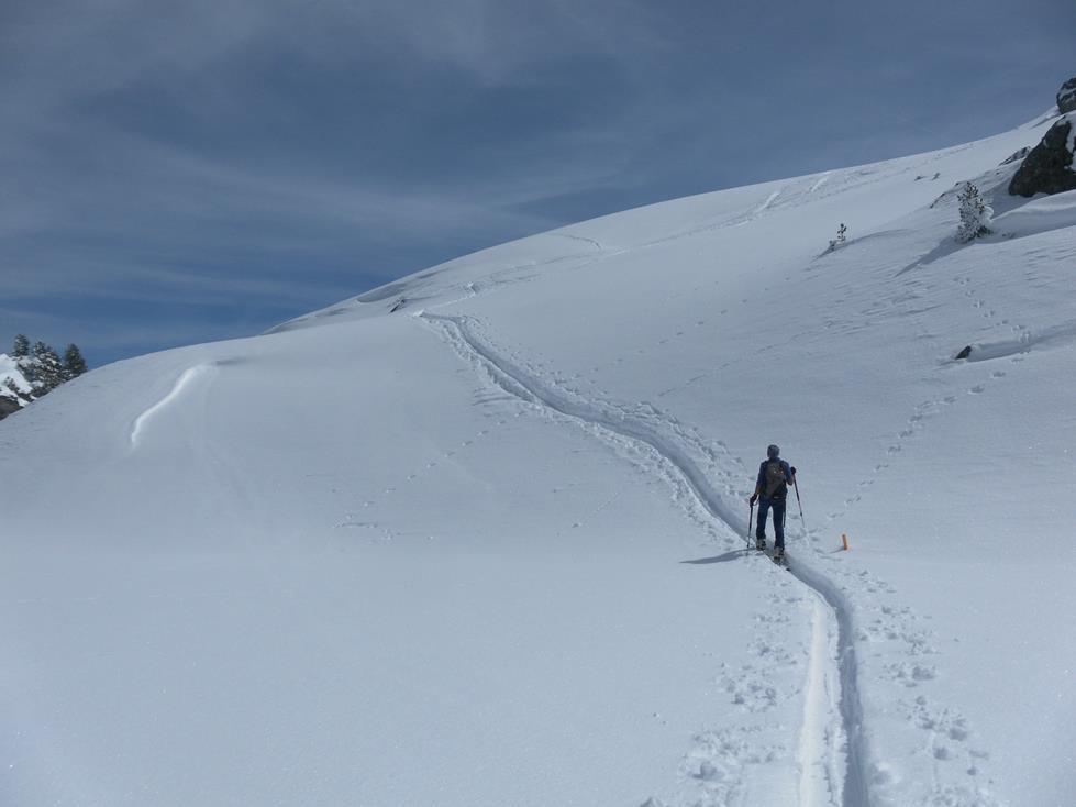 Foto: Wolfgang Lauschensky / Ski Tour / Kreuzjoch über Karspitze / Gipfelhang / 11.05.2019 14:44:05