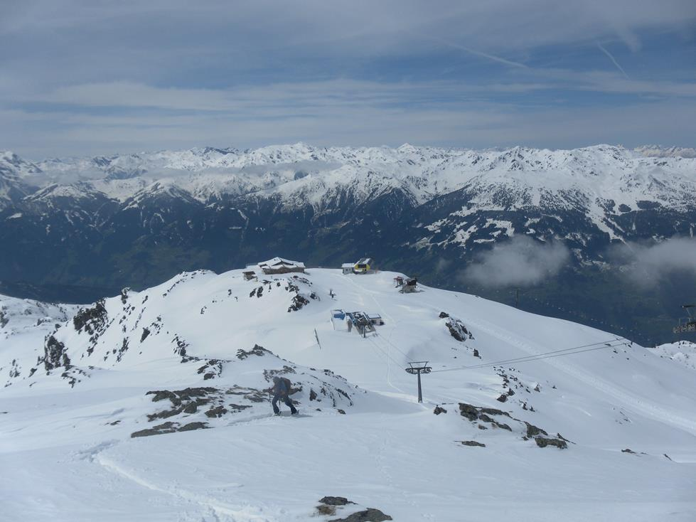 Foto: Wolfgang Lauschensky / Ski Tour / Kreuzjoch über Karspitze / Bergstation Arena Stadl / 11.05.2019 14:43:43