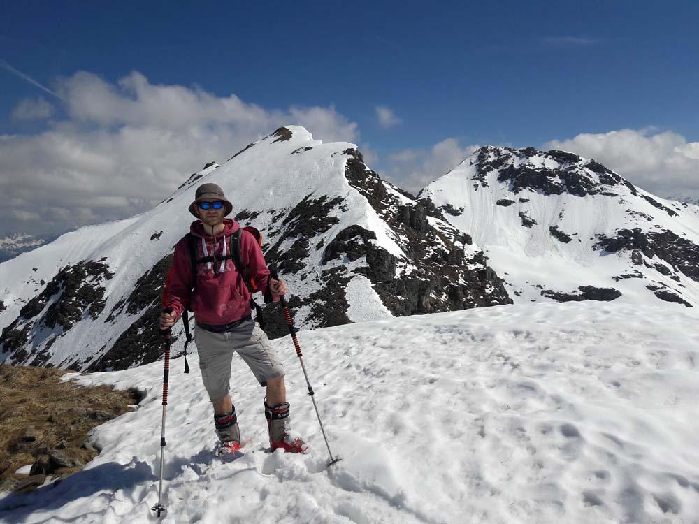 Foto: Rupert Gredler / Skitour / Seekareck frühsommerlich / Der Gipfel / 20.06.2019 16:56:26