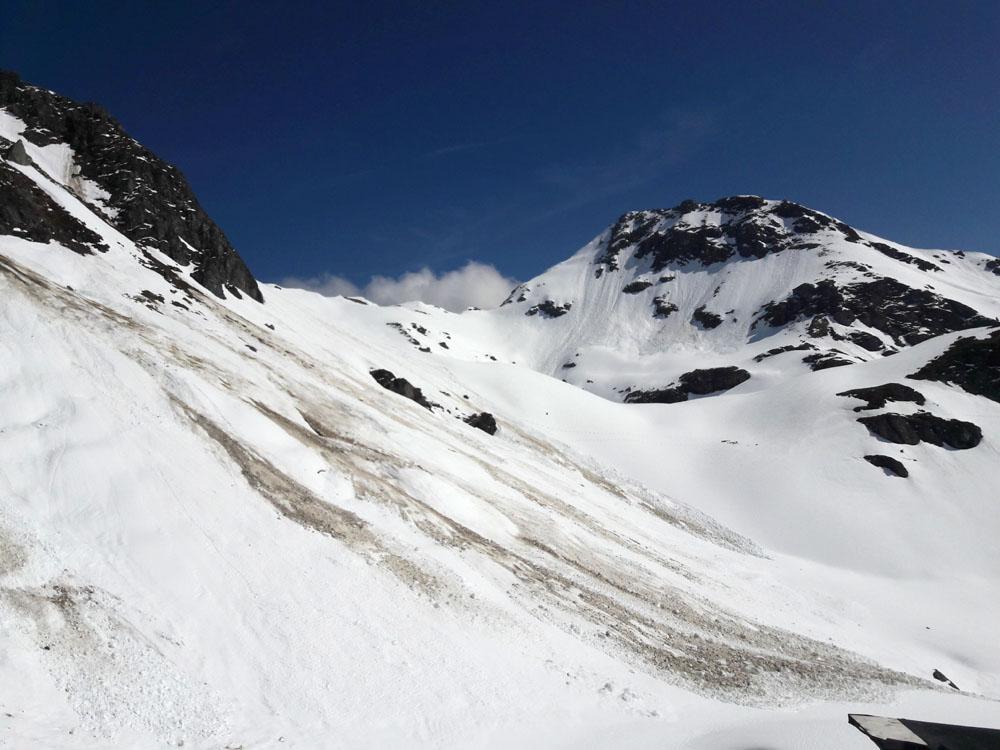 Foto: Rupert Gredler / Skitour / Seekareck frühsommerlich / Der Seekarspitz / 20.06.2019 16:54:29