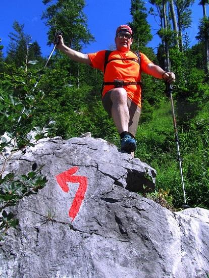 Foto: Andreas Koller / Wandertour / Kleiner Priel - steile Tour über Hinterstoder (2136m) / 30.08.2019 01:48:06