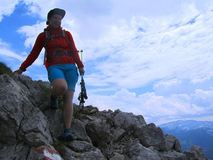 Foto: Andreas Koller / Wandertour / Kleiner Priel - steile Tour über Hinterstoder (2136m) / Abstieg vom Kleinen Priel / 30.08.2019 01:42:04
