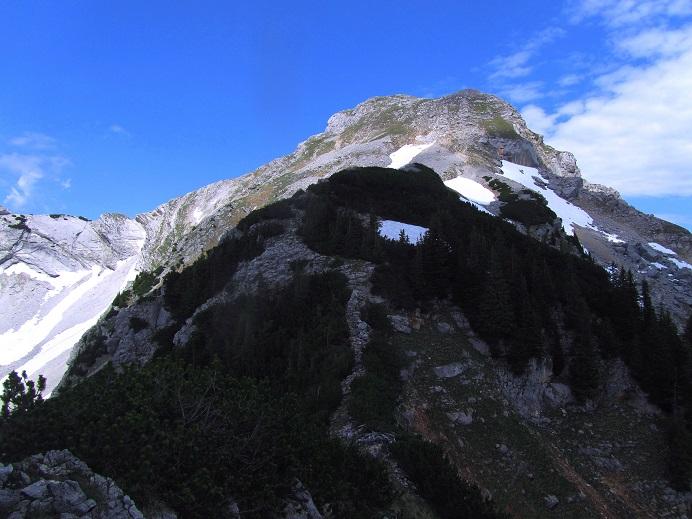 Foto: Andreas Koller / Wandertour / Kleiner Priel - steile Tour über Hinterstoder (2136m) / Blick zurück zum Kleinen Priel / 30.08.2019 01:40:22