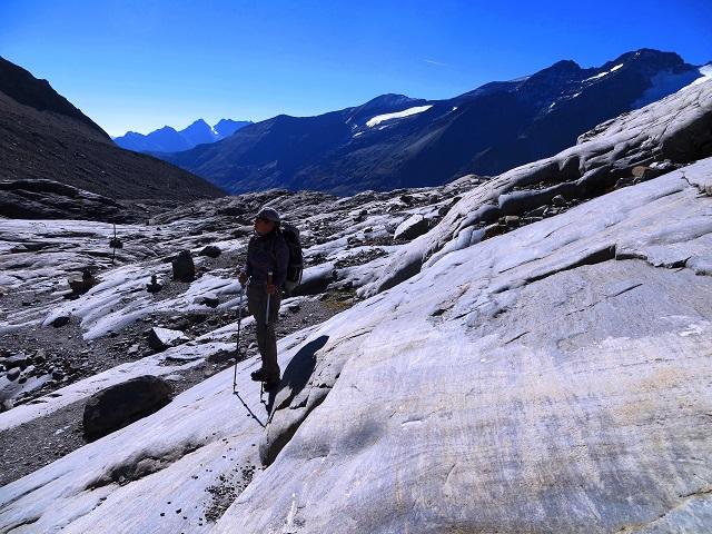 Foto: Andreas Koller / Wandertour / Über leichte Gletscher auf den Breitkopf (3154m) / 30.11.2019 01:18:58