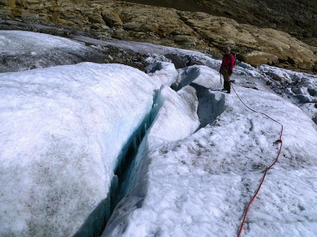 Foto: Andreas Koller / Wandertour / Über leichte Gletscher auf den Breitkopf (3154m) / 30.11.2019 01:16:59