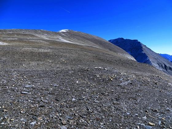 Foto: Andreas Koller / Wandertour / Über leichte Gletscher auf den Breitkopf (3154m) / Der breite Kamm am Breitkopf: Nomen est omen / 30.11.2019 01:16:11