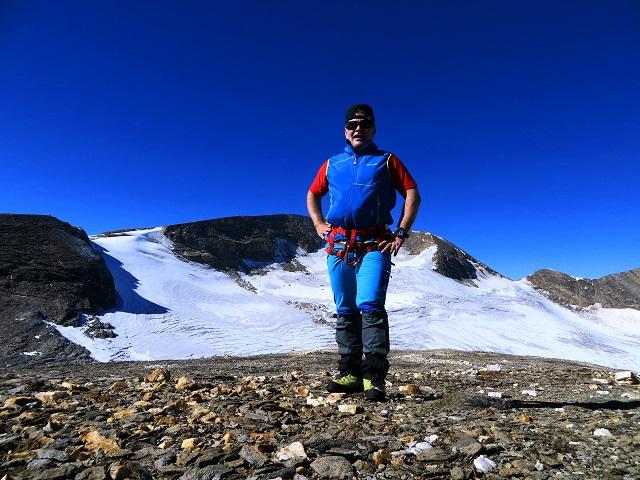 Foto: Andreas Koller / Wandertour / Über leichte Gletscher auf den Breitkopf (3154m) / Breitkopf Westgipfel / 30.11.2019 01:15:24
