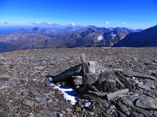 Foto: Andreas Koller / Wandertour / Über leichte Gletscher auf den Breitkopf (3154m) / Am Breitkopf (Ostgipfel = Hauptgipfel) / 30.11.2019 01:14:18