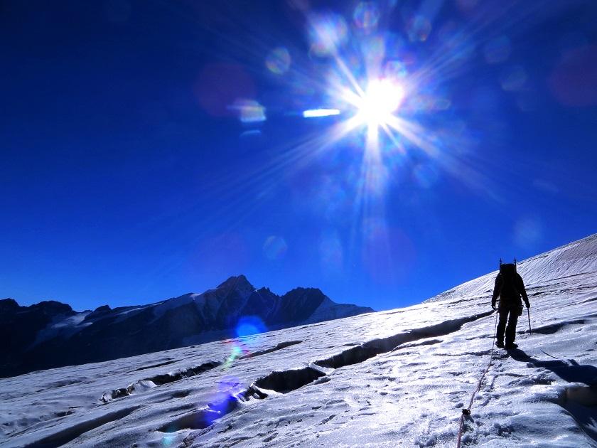 Foto: Andreas Koller / Wandertour / Über leichte Gletscher auf den Breitkopf (3154m) / 30.11.2019 01:11:22