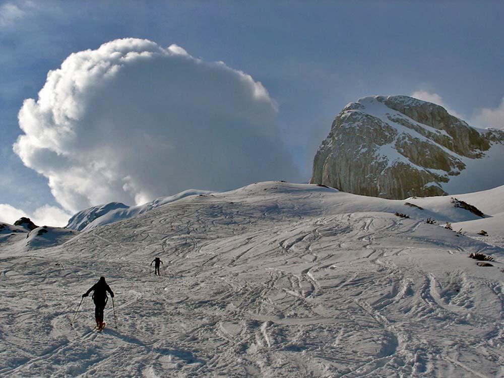 Foto: Rupert Gredler / Skitour / Das Hohe Brett / Ohne Unterbrechung / 22.03.2020 14:43:09
