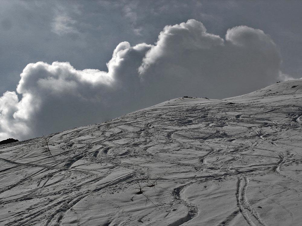 Foto: Rupert Gredler / Skitour / Das Hohe Brett / Immer noch Alpltal / 22.03.2020 14:41:32