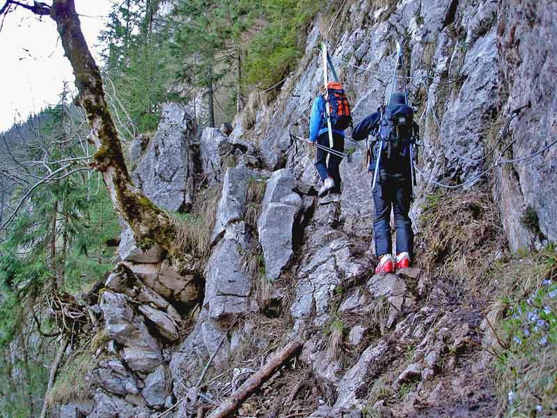 Foto: Rupert Gredler / Skitour / Das Hohe Brett / Sommerseil und Winterseil / 22.03.2020 14:43:45