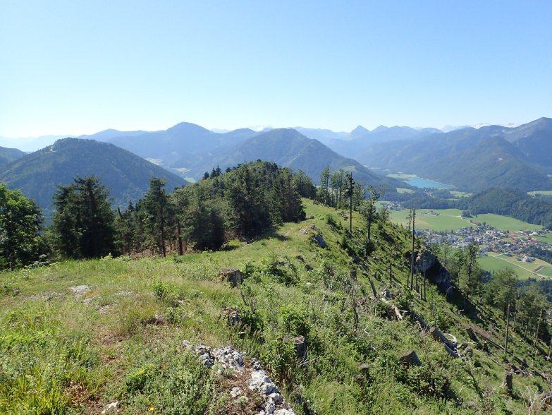 Foto: Manfred Karl / Wandertour / Lidaunberg von Hof / Osterhorngruppe und Hintersee / 03.08.2020 06:35:34