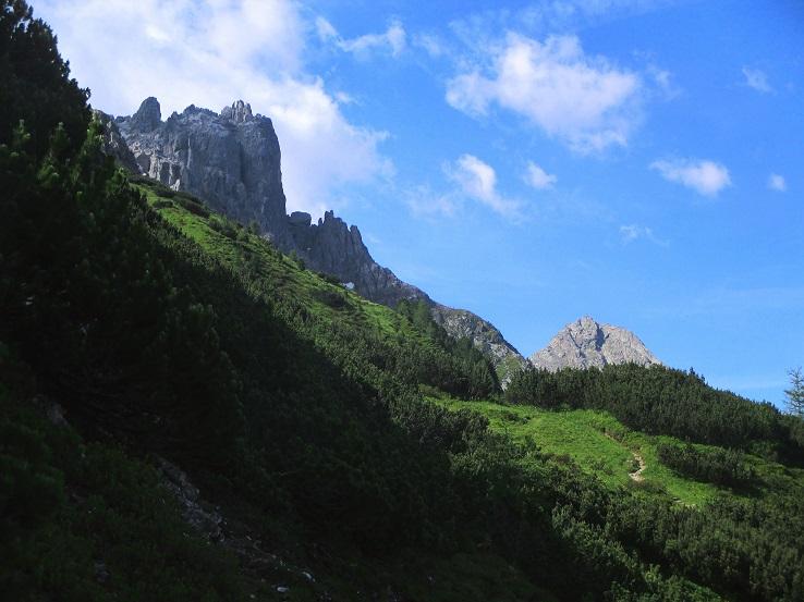 Foto: Andreas Koller / Klettersteigtour / Nordwand-Klettersteig Elferturm (2499m) / 09.07.2020 18:42:49