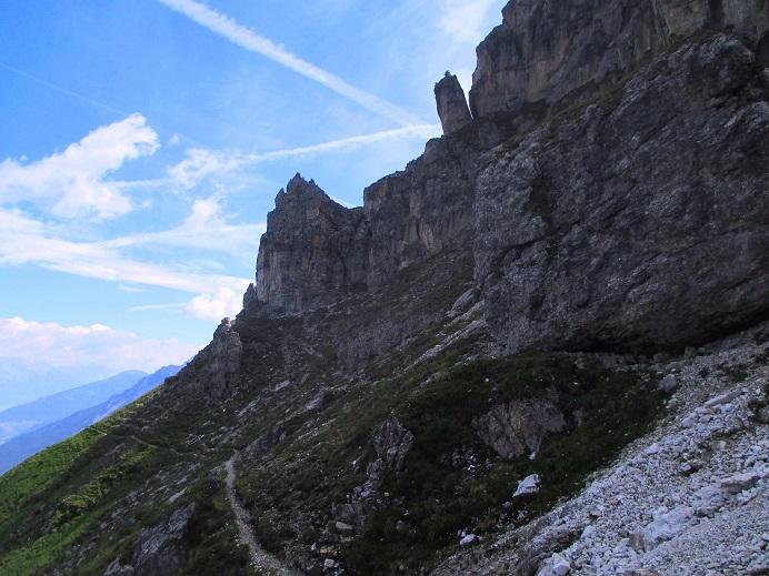 Foto: Andreas Koller / Klettersteigtour / Nordwand-Klettersteig Elferturm (2499m) / 09.07.2020 18:42:09