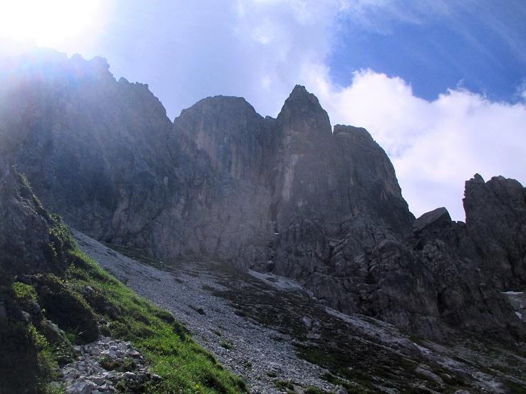 Foto: Andreas Koller / Klettersteigtour / Nordwand-Klettersteig Elferturm (2499m) / 09.07.2020 18:42:03