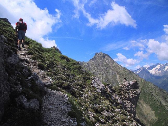Foto: Andreas Koller / Klettersteigtour / Nordwand-Klettersteig Elferturm (2499m) / 09.07.2020 18:41:56