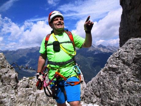 Foto: Andreas Koller / Klettersteigtour / Nordwand-Klettersteig Elferturm (2499m) / 09.07.2020 18:41:00
